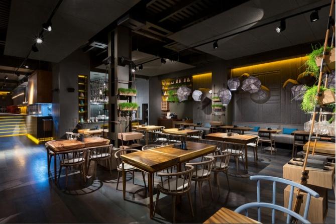 北京餐厅装修